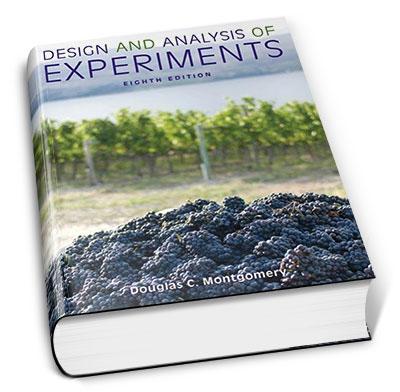کتاب طراحی و تحلیل آزمایشها، تالیف داگلاس سی. مونتگومری